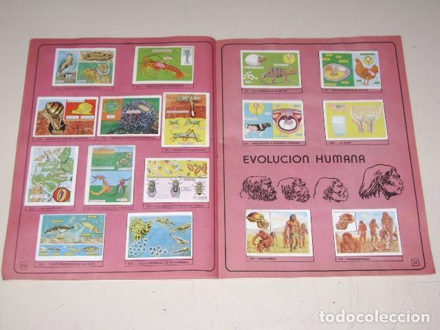 Coleccionismo Álbum: Album Ciencias - Editorial Navarrete 1985 - 100% Completo - Foto 7 - 60626343