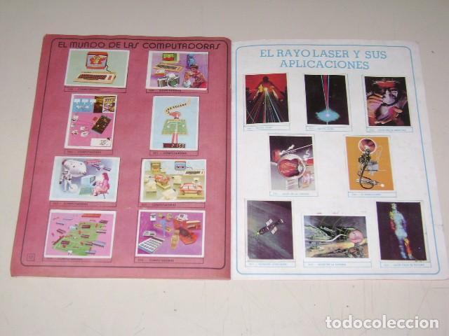 Coleccionismo Álbum: Album Ciencias - Editorial Navarrete 1985 - 100% Completo - Foto 8 - 60626343