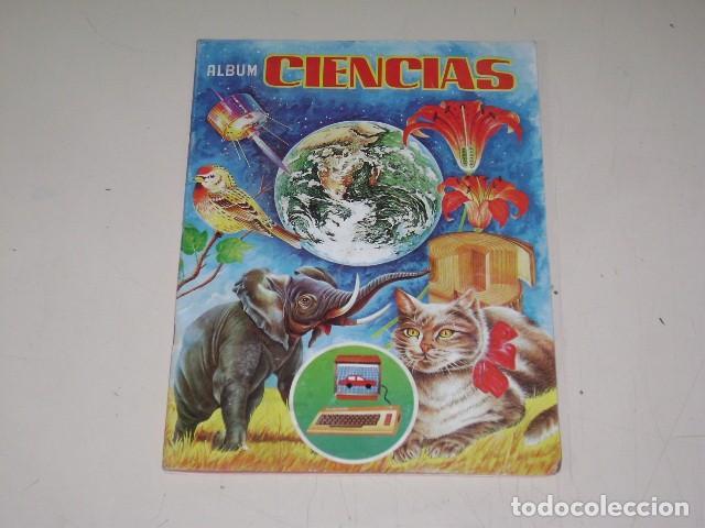 ALBUM CIENCIAS - EDITORIAL NAVARRETE 1985 - 100% COMPLETO (Coleccionismo - Cromos y Álbumes - Álbumes Completos)