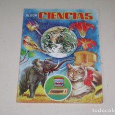 Coleccionismo Álbum: ALBUM CIENCIAS - EDITORIAL NAVARRETE 1985 - 100% COMPLETO. Lote 60626343