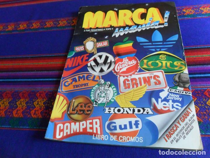 MARCA MANÍA MARCAMANÍA COMPLETO 205 CROMOS. EDICIONES ESTE 1982. (Coleccionismo - Cromos y Álbumes - Álbumes Completos)