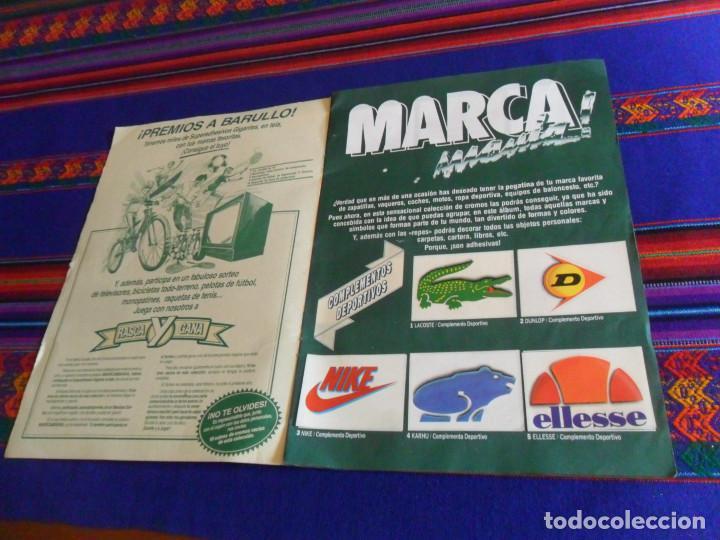 Coleccionismo Álbum: MARCA MANÍA MARCAMANÍA COMPLETO 205 CROMOS. EDICIONES ESTE 1982. - Foto 2 - 183689631