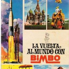 Coleccionismo Álbum: ÁLBUM LA VUELTA AL MUNDO CON BIMBO . Lote 183993292
