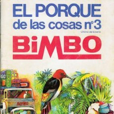 Coleccionismo Álbum: ÁLBUM EL PORQUE DE LAS COSAS Nº 3 COMPLETO . Lote 183994708