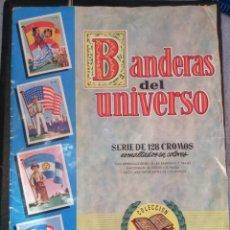 Coleccionismo Álbum: BANDERAS DEL UNIVERSO EDITORIAL BRUGUERA 1956. Lote 184014143