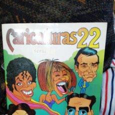 Coleccionismo Álbum: CARICATURAS 22 COMPLETO. Lote 184110902