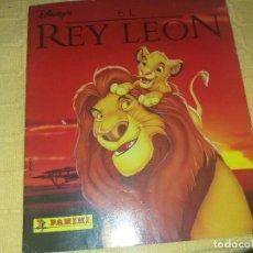 Coleccionismo Álbum: ALBUM EL REY LEON.COMPLETO.PANINI. Lote 184132590