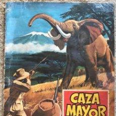 Coleccionismo Álbum: ÁLBUM CAZA MAYOR - EDITORIAL RUIZ ROMERO - COMPLETO. Lote 184198075