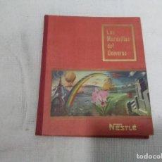 Coleccionismo Álbum: LAS MARAVILLAS DEL UNIVERSO - ÁLBUM DE CROMOS - COMPLETO - NESTLÉ - 1955. Lote 184445451
