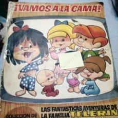 Coleccionismo Álbum: ÁLBUM CROMOS VAMOS ALA CAMA COMPLETO. Lote 184720543