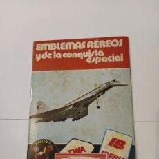 Coleccionismo Álbum: PANRICO-EMBLEMAS AEREOS Y DE LA CONQUISTA ESPACIAL-ALBUM DE CROMOS COMPLETO-VER FOTOS-(V-18.341). Lote 184730505