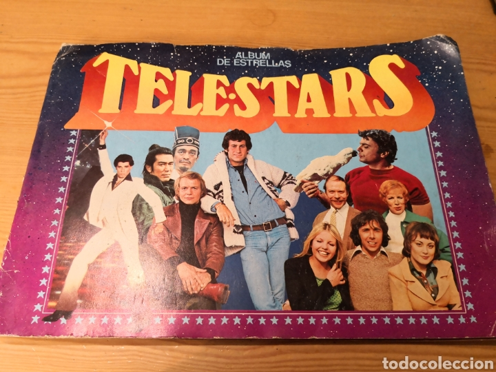 ALBUM DE ESTRELLAS TELE STARS (Coleccionismo - Cromos y Álbumes - Álbumes Completos)