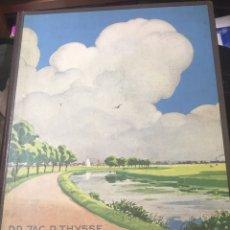 Coleccionismo Álbum: ÁLBUM HOLANDÉS DONDE VIVIMOS AÑO 1937 COMPLETO. Lote 185236717