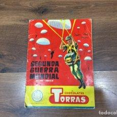 Coleccionismo Álbum: COMPLETO ÁLBUM SEGUNDA GUERRA MUNDIAL- CHOCOLATES TORRAS. Lote 185775417