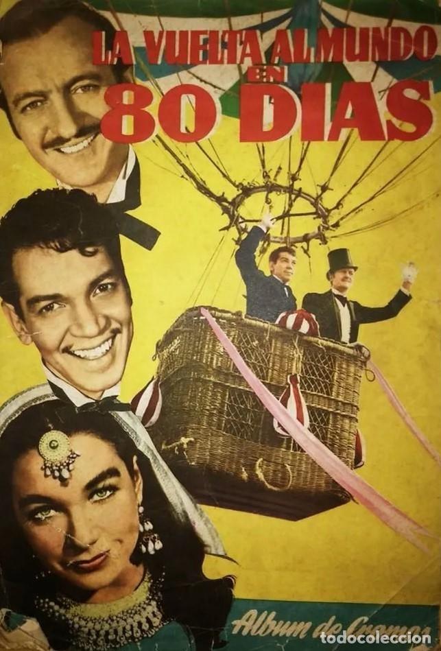 Coleccionismo Álbum: Cantinflas, la vuelta al mundo en 80 dias. Falta el cromo num.2 Ferma álbum con 199 de 200 cromos - Foto 25 - 120157215