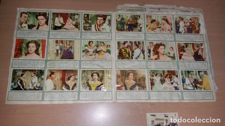 Coleccionismo Álbum: ÁLBUM SISSI COMPLETO Y SISSI EMPERATRIZ FALTAN 28 - Foto 4 - 185896073