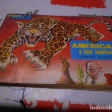 Coleccionismo Álbum: ALBUM COMPLETO AMERICA Y SUS HABITANTES - EDITORIAL MAGA - AÑO 1968 - 252 CROMOS . Lote 186097207