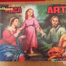 Coleccionismo Álbum: ÁLBUM MAGA ARTE COMPLETO 290 CROMOS. Lote 186097943