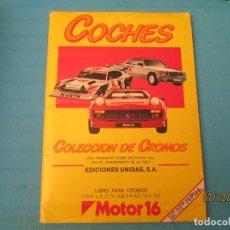 Coleccionismo Álbum: COCHES. Lote 152427678