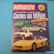 Coleccionismo Álbum: COCHES DEL MUNDO. Lote 152427754