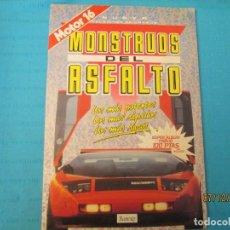 Coleccionismo Álbum: MONSTRUOS DEL ASFALTO. Lote 152427934