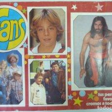 Coleccionismo Álbum: FANS // ALBUM // 1976 // COMPLETO. Lote 186741558