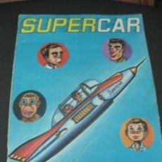 Coleccionismo Álbum: SUPERCAR. ALBUM COMPLETO 120 CROMOS. FHER 1965.. Lote 186955145
