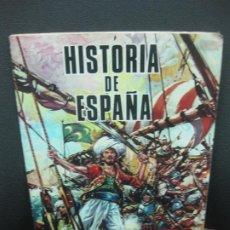Coleccionismo Álbum: HISTORIA DE ESPAÑA ALBUM CON 220 CROMOS COMPLETO. EDICIONES PETRONIO 1984.. Lote 186965623