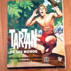 Coleccionismo Álbum: ÁLBUM TARZÁN DE LOS MONOS -EDITORIAL ERRCUS 1962. COMPLETO. Lote 187152692