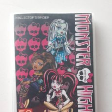 Coleccionismo Álbum: ALBUM MONSTER HIGH COMPLETO 108 PHOTO CARDS. Lote 187231191