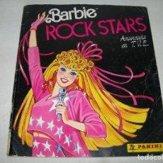 Coleccionismo Álbum: ÁLBUM DE CROMOS BARBIE ROCK STARS TOTALMENTE COMPLETO DE PANINI AÑO 1986 - CON PÓSTER COMPLETO -. Lote 249174480