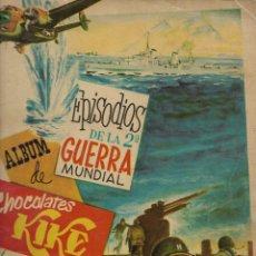 Coleccionismo Álbum: EPISODIOS DE LA 2ª GUERRA MUNDIAL. COMPLETO. Lote 172937888