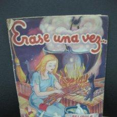 Coleccionismo Álbum: ERASE UNA VEZ... PELICULA SOBRE EL CUENTO LA CENICIENTA. ALBUM DE CROMOS COMPLETO.CROMOS FHER.. Lote 187860167