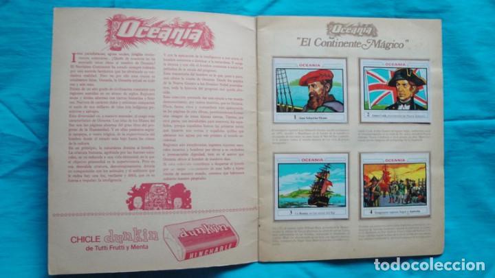 Coleccionismo Álbum: OCEANIA DUNKIRAMA EL QUE SALIAN LOS CROMOS EN LOS CHICLES DUNKIN - Foto 2 - 188401427