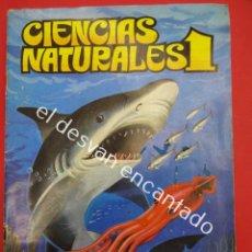 Coleccionismo Álbum: CIENCIAS NATURALES 1. ALBUM COMPLETO. EDITORIAL EASO. Lote 189111161