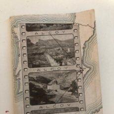 Coleccionismo Álbum: ANTIGUO ÁLBUM MINIATURAS DE ALCOY DE LA IMPRENTA LA ANTIGUA DE ALCOY. Lote 189179831