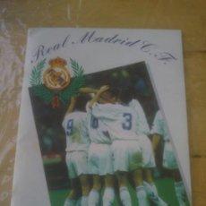 Coleccionismo Álbum: ALBUM 1994-95 REAL MADRID MAGIC BOX. FUTBOL Y BALONCESTO PERFECTO ESTADO. Lote 189194388