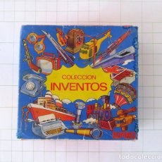 Coleccionismo Álbum: BIMBO COLECCION INVENTOS 1973 COMPLETA. COMPLETO 99 FICHAS. MUY BUEN ESTADO. Lote 189330626