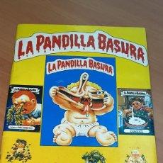 Coleccionismo Álbum: ALBUM COMPLETO PANDILLA BASURA J.M MERCHANTE GARBAGGE PAIL KIDS LPB1 CON TODOS SUS CROMOS VER FOTOS. Lote 189559378