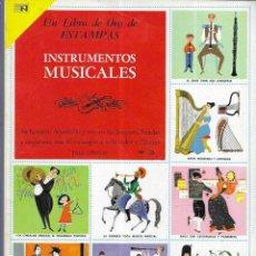 Coleccionismo Álbum: ALBUM * INSTRUMENTOS MUSICALES * NOVARO 1973. Lote 189639951