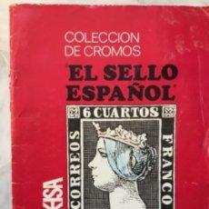 Collezionismo Álbum: COLECCIÓN DE CROMOS EL SELLO ESPAÑOL 1967/1971 COMPLETO KEISA PROHIBIDA SU VENTA. Lote 189674147