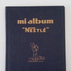 Coleccionismo Álbum: ALBUM CROMOS NESTLE. COMPLETO. INCLUYE ALGUNOS DOCUMENTO RELACIONADOS. VER FOTOS. W . Lote 189736338