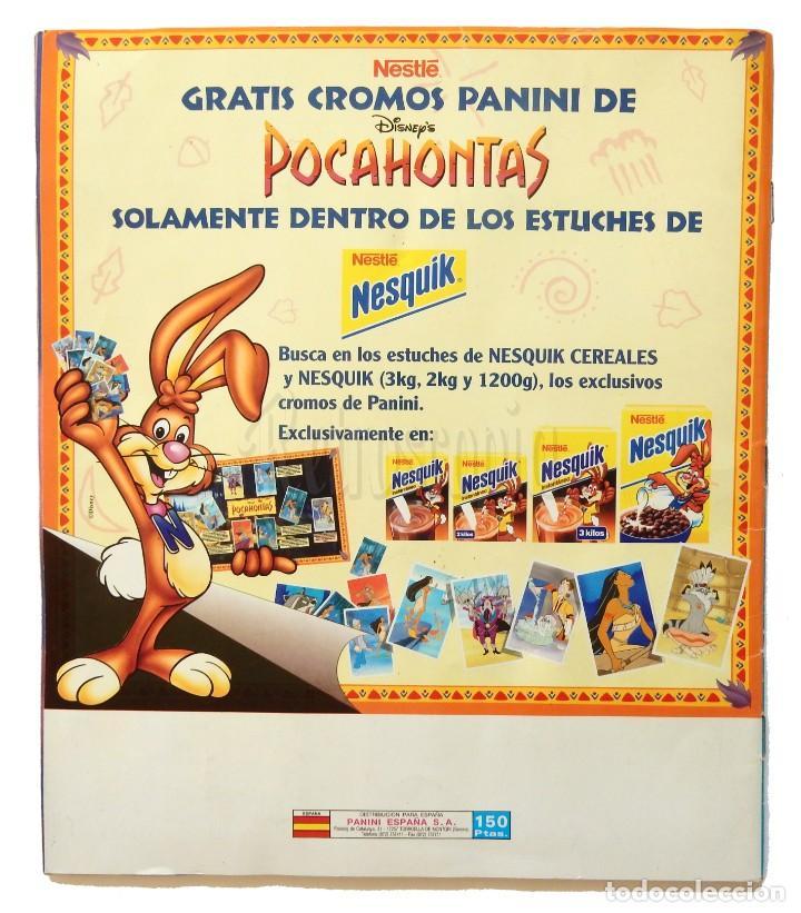 Coleccionismo Álbum: ÁLBUM DE CROMOS PANINI POCAHONTAS PELÍCULA DE WALT DISNEY. COMPLETO AÑOS 90 - Foto 6 - 189761988