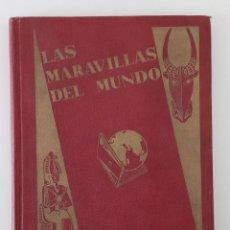 Coleccionismo Álbum: ALBUM CROMOS NESTLE. LAS MARAVILLAS DEL MUNDO. COMPLETO. VER FOTOS. W . Lote 189877407