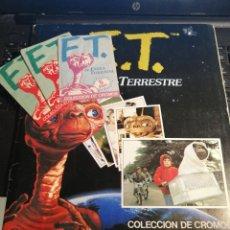 Coleccionismo Álbum: ALBUM DE CROMOS ET EL EXTRATERRESTRE CON TRES SOBRES DE LA COLECCION. Lote 189888115