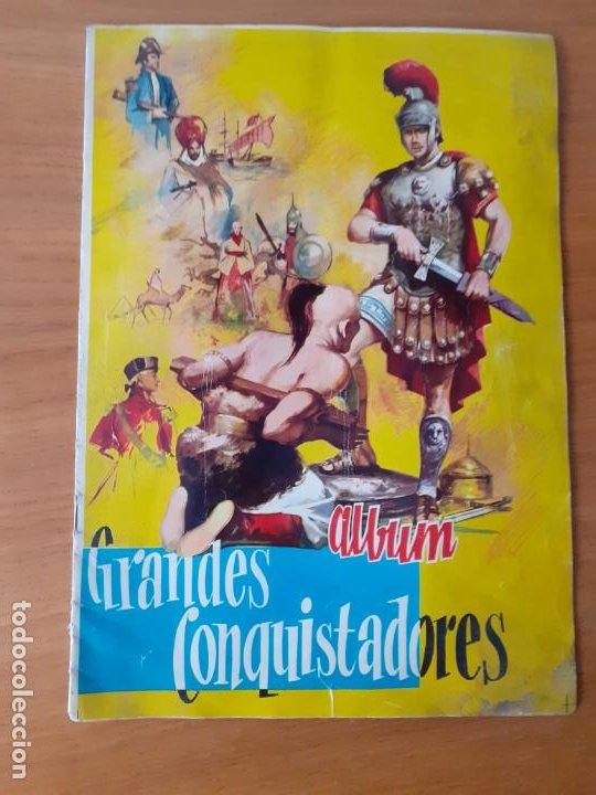 GRANDES CONQUISTADORES. FERMA. COMPLETO (Coleccionismo - Cromos y Álbumes - Álbumes Completos)