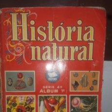 Coleccionismo Álbum: ALBUM HISTORIA NATURAL 2 TOMOS. Lote 190200822