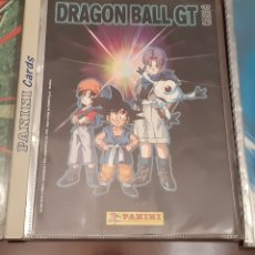 Coleccionismo Álbum: ALBUM DRAGON BALL GT SERIE 1 CARDS CROMOS COMPLETO (ARCHIVADOR PANINI). Lote 213339475