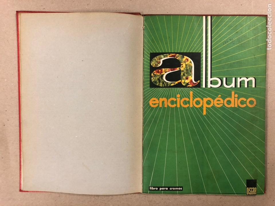 Coleccionismo Álbum: ÁLBUM ENCICLOPÉDICO DISGRA-FHER (1965). ÁLBUM DE CROMOS COMPLETO. - Foto 3 - 190481140