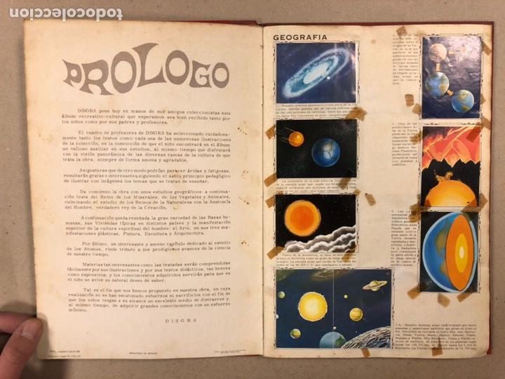 Coleccionismo Álbum: ÁLBUM ENCICLOPÉDICO DISGRA-FHER (1965). ÁLBUM DE CROMOS COMPLETO. - Foto 4 - 190481140